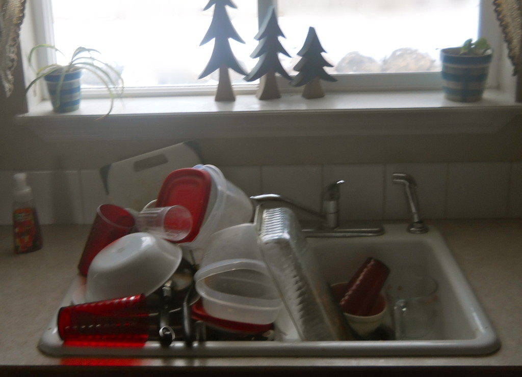 Judge Not and a Sink Full of DIshes