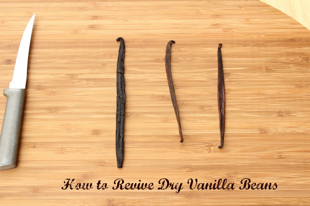 How to Revive Dry Vanilla Beans