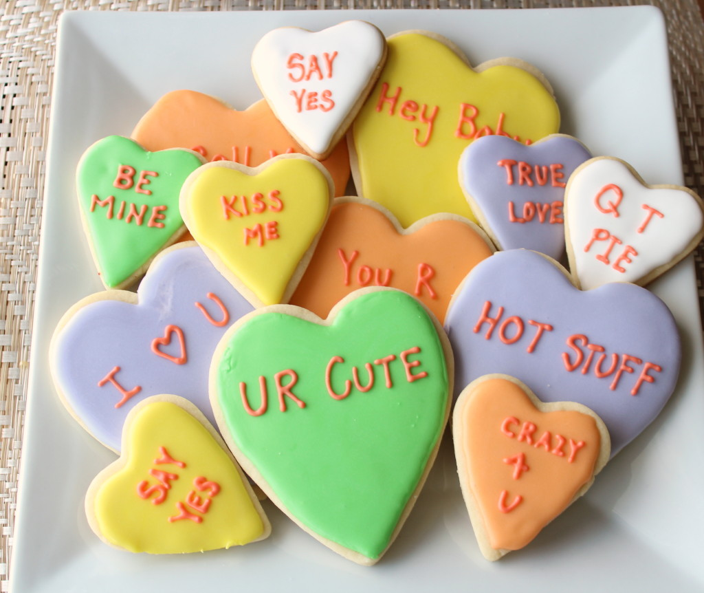 Valentine Day Conversation Hearts