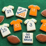 Superbowl XLVIII Cookies