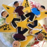 Star Trek Happy Birthday Cookies