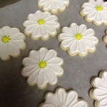 White Daisies Cookies