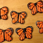 Monarch Butterfly Cookies