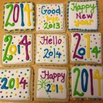 Happy New Year 2014 Cookies