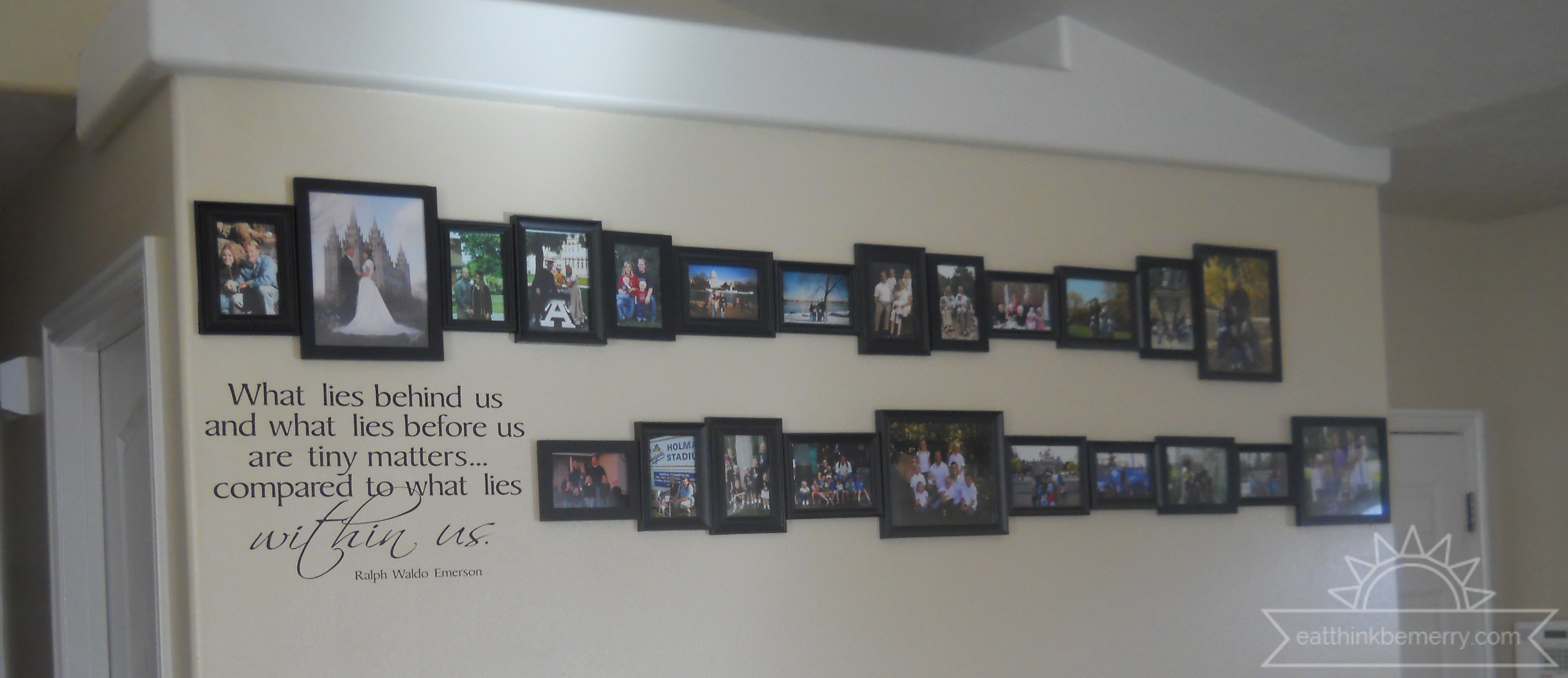 Perspective Project - Family Photo Display
