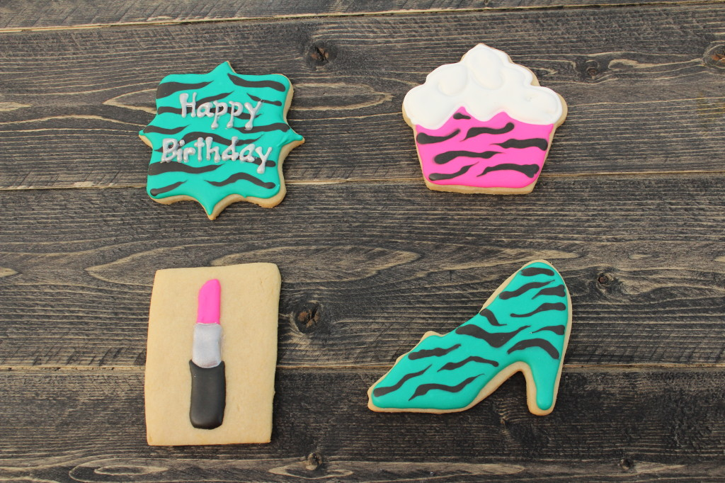 Girly Girl Birthday Cookies