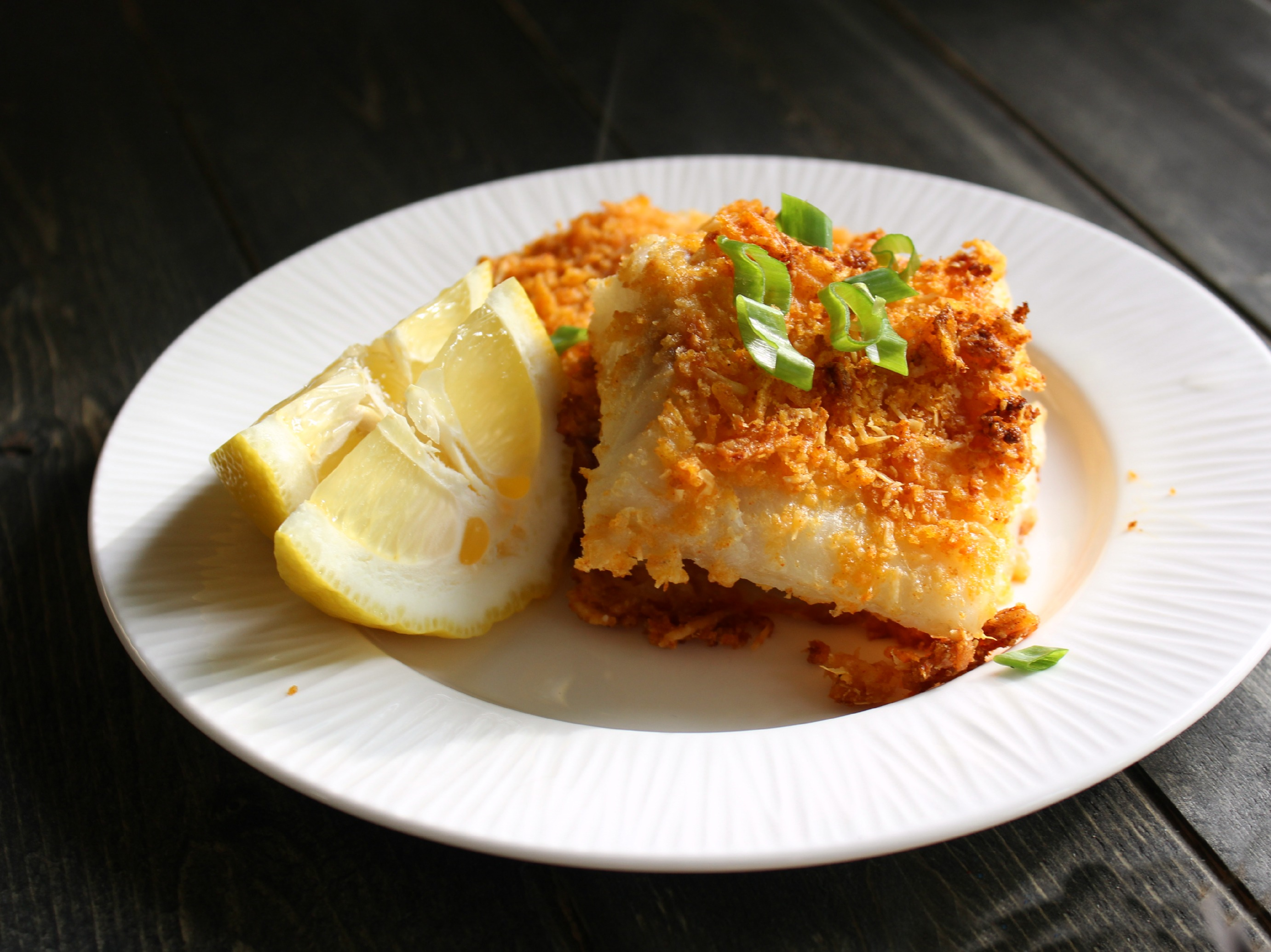 Crisp Crusted Oven Baked Fish Eat Think Amp Be Merry