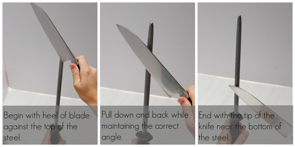 Honing a blade