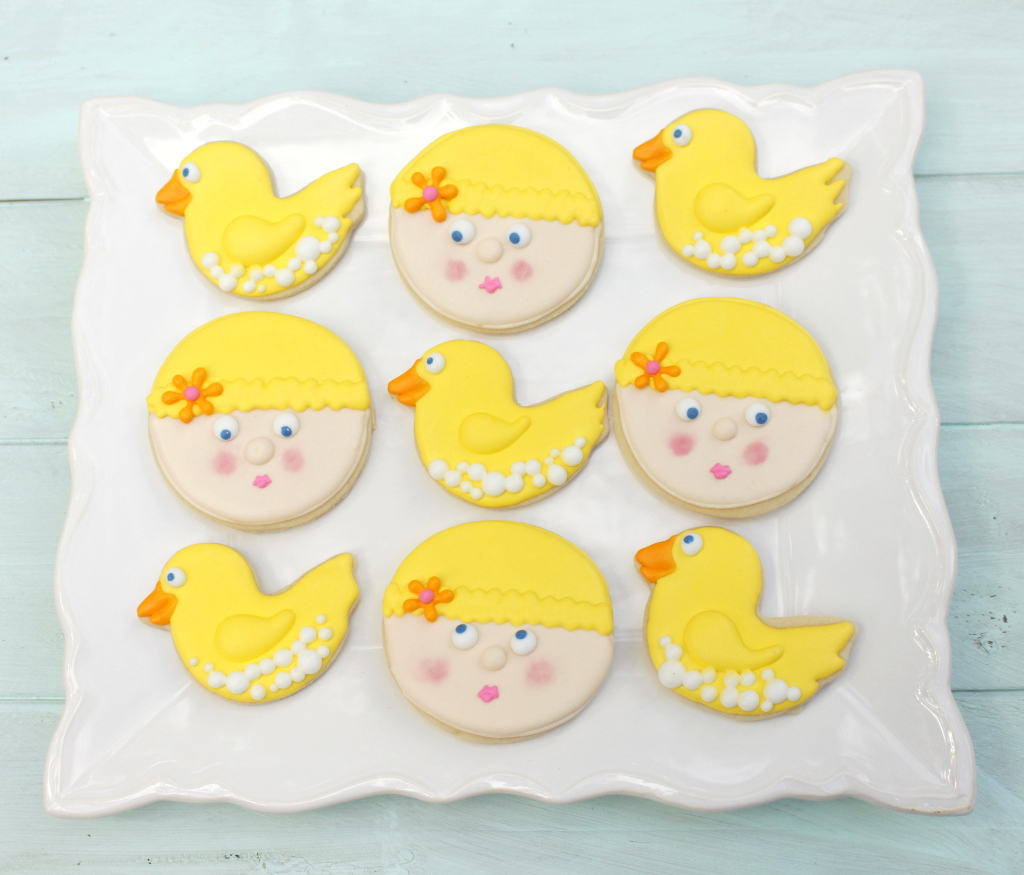 Rubber Duck Cookies-001