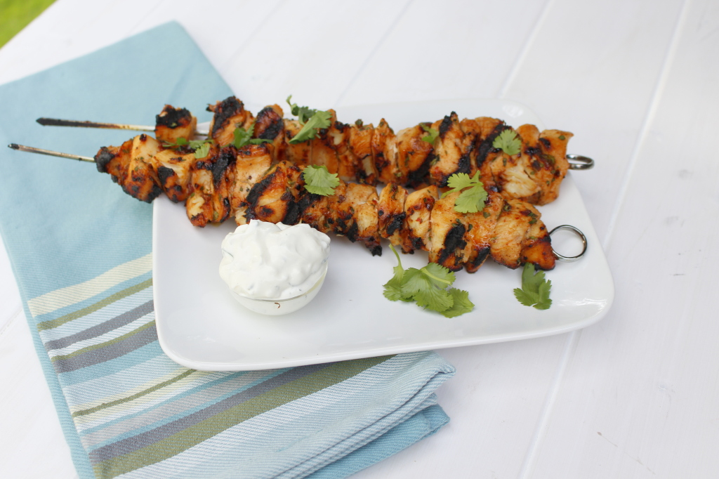 Chipotle Chicken Skewers