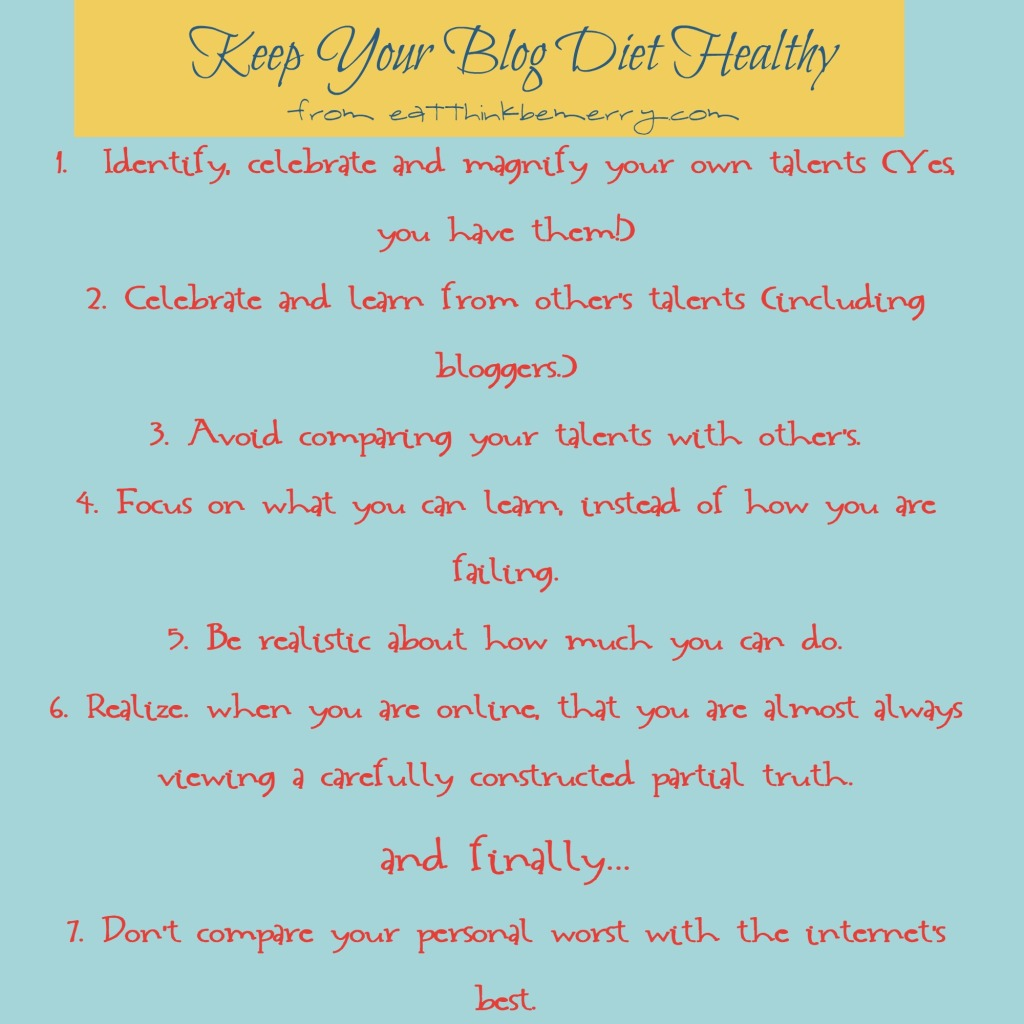 healthy blog diet