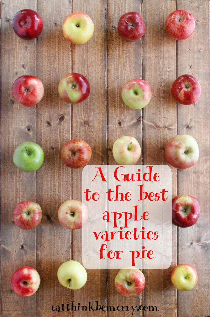 The best apple varieties for pie