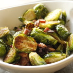 Countdown to Thanksgiving – Balsamic Roasted Brussels Sprouts