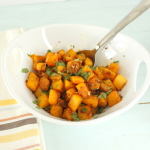 Thanksgiving Countdown- Butternut Squash with Ginger