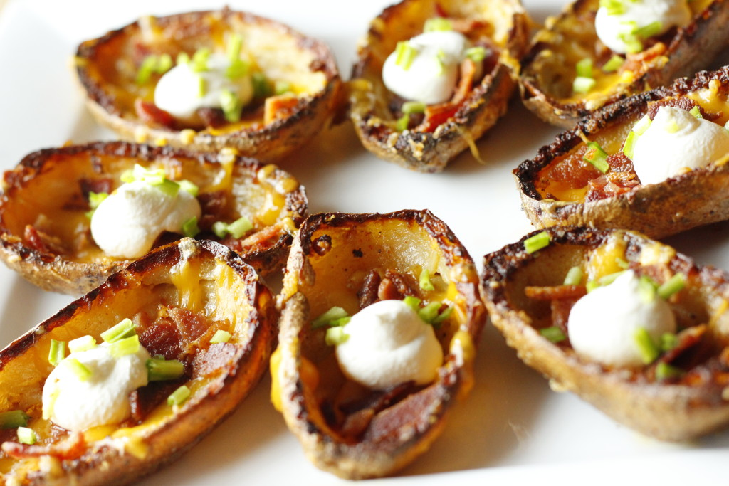 crispy potato skins