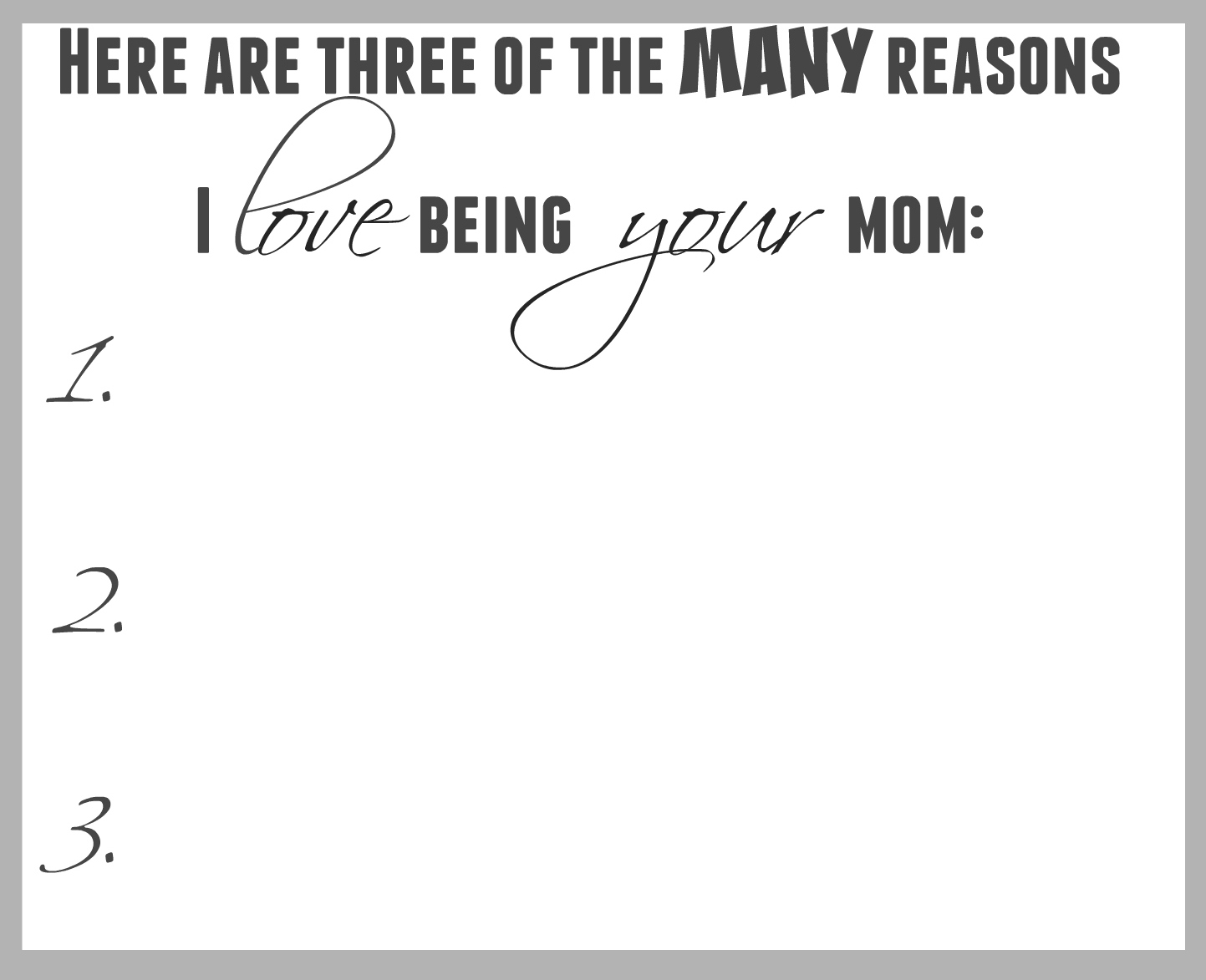 Best Mother's Day Card Inside