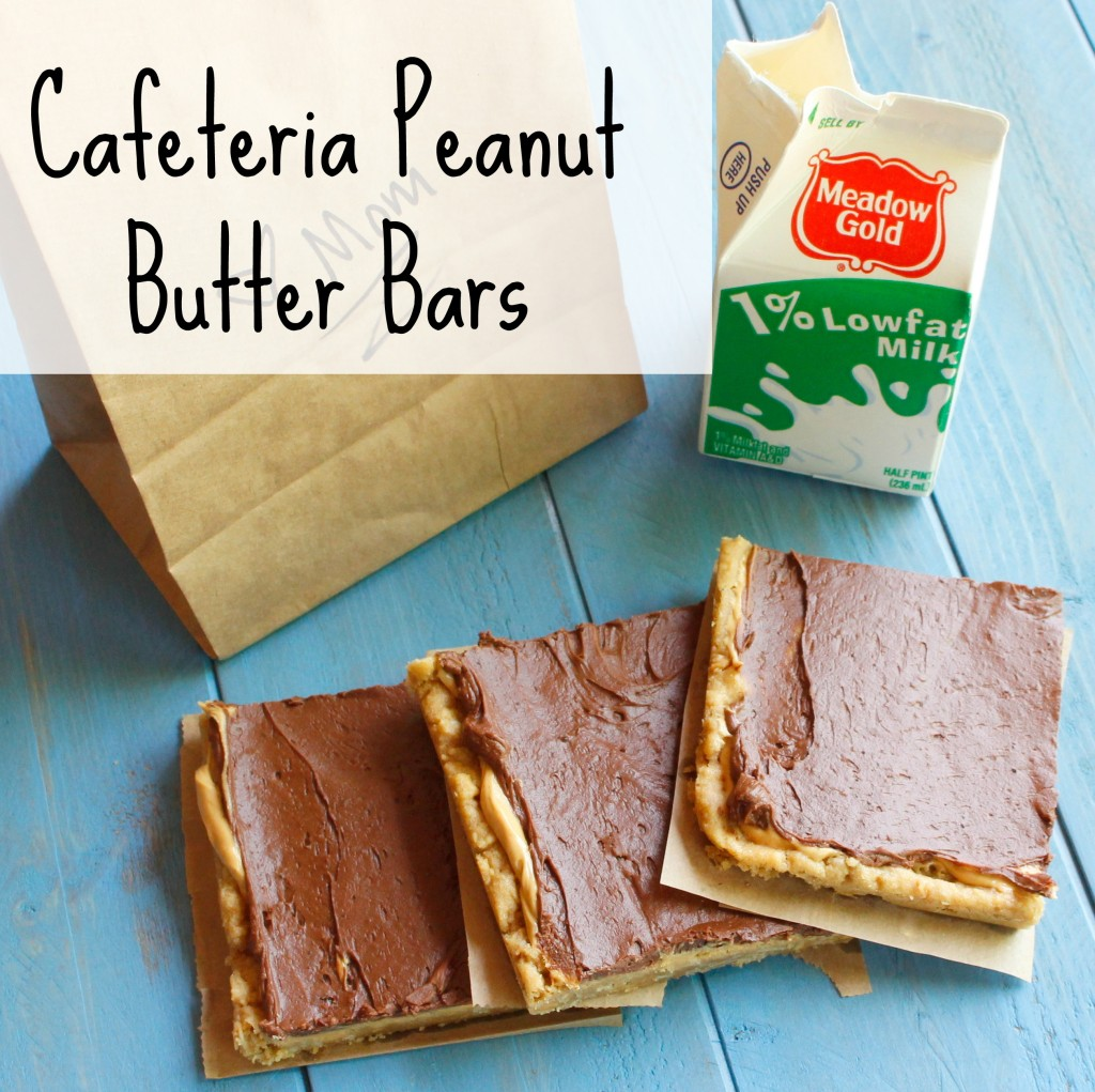 Cafeteria Peanut Butter Bars sidebar