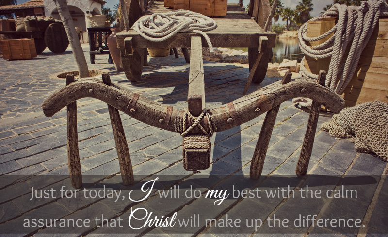 Christ Will Make Up The Difference