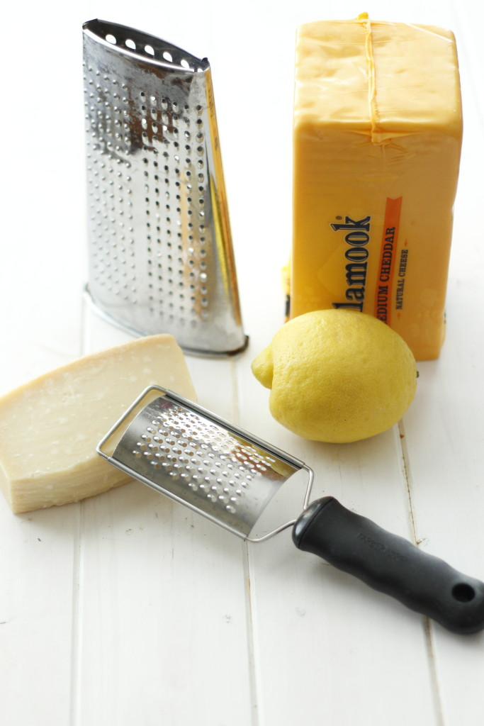 Different types of graters