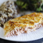 Quick and Easy Parmesan Crusted Salmon
