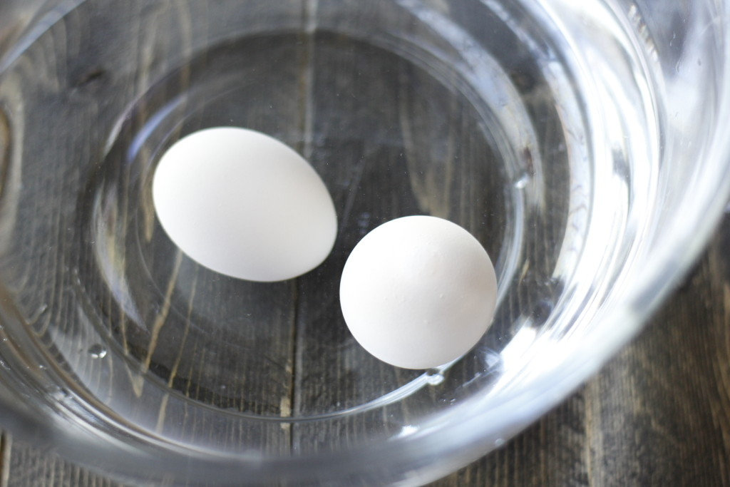 Best method for easy to peel hard boiled eggs.
