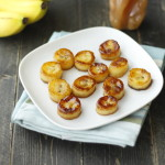 honey glazed bananas