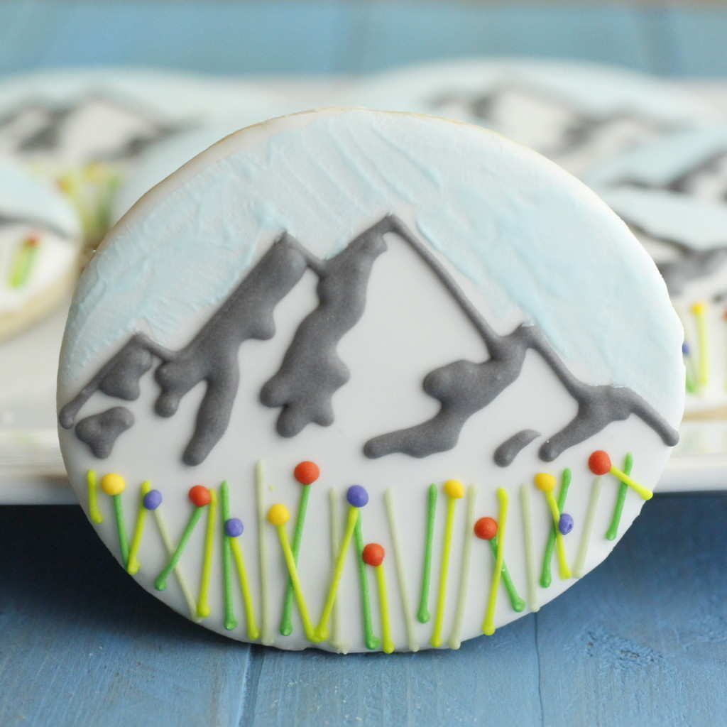 Mountain Peak Cookie