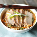 Pork Char Siu Men- AKA Fancy Ramen Noodles