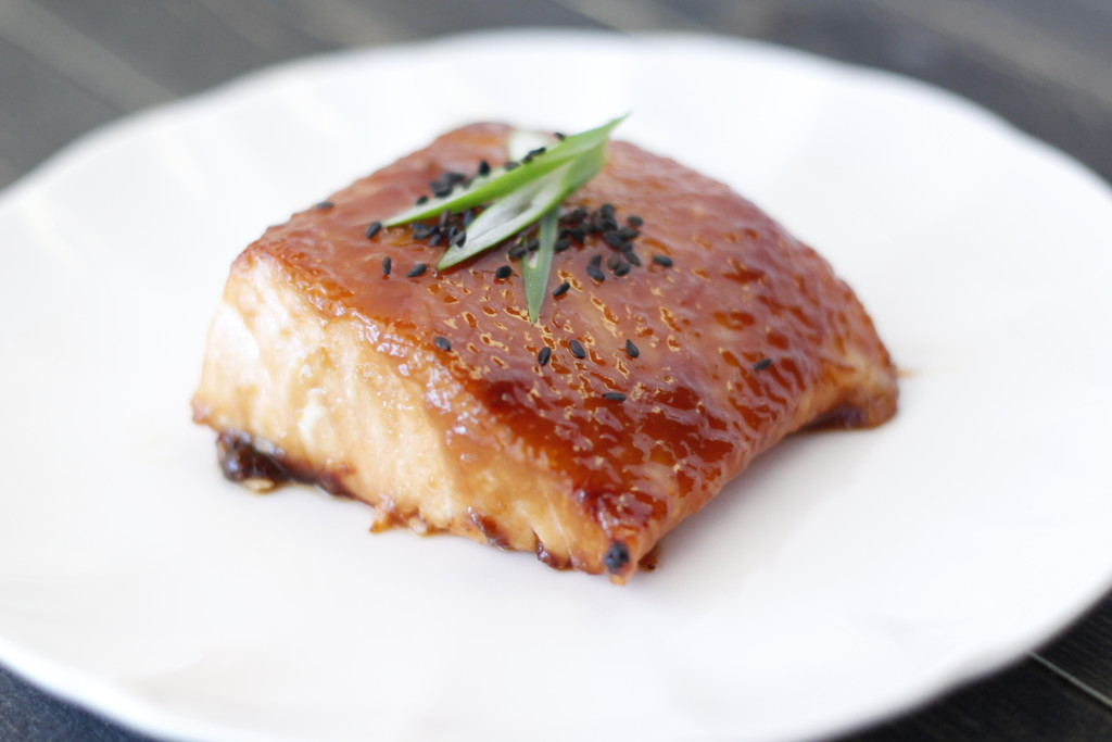 Miso Glazed Salmon - Eat, Think & Be Merry