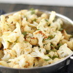 Roasted Cilantro Lime Cauliflower
