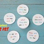 Sight Word Spot It!- A game to keep a Mom from going crazy
