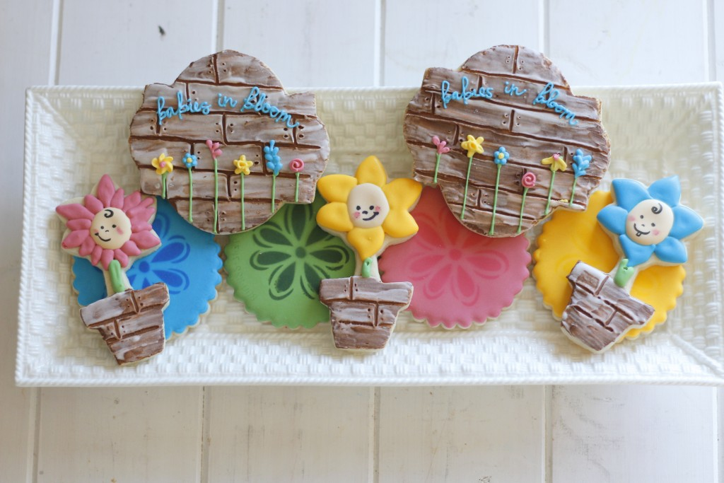 babies in bloom cookies