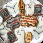 Mortician Bridal Shower Cookies- Weirdest Cookies Ever!