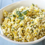 Grilled Chili Lime Corn Salad