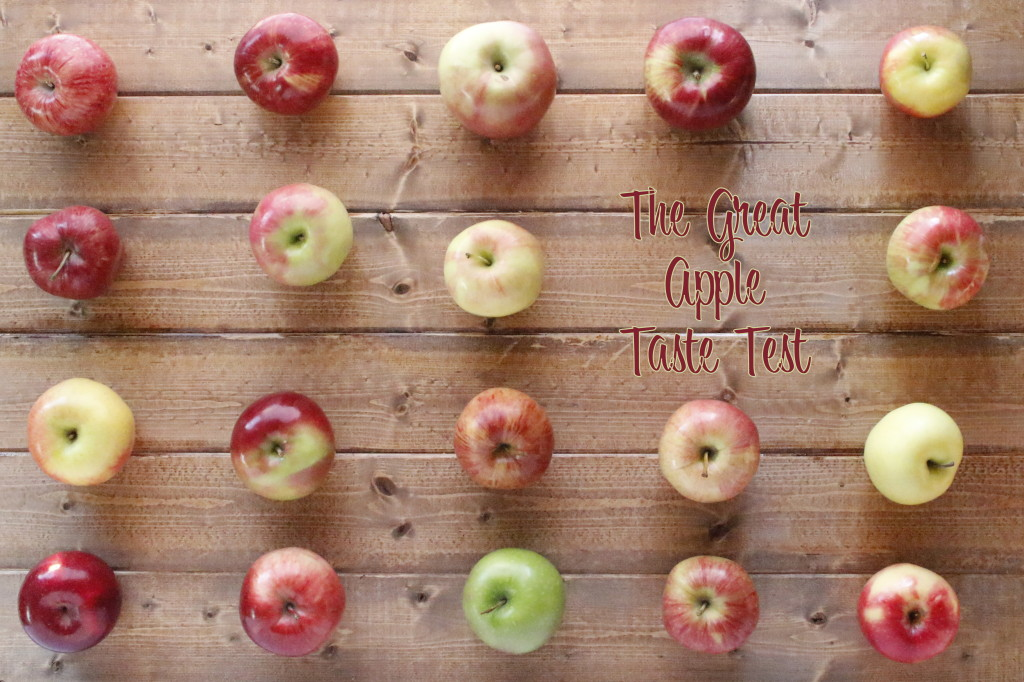 great apple taste test