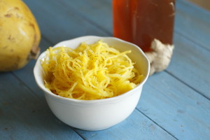 gingered spaghetti squash