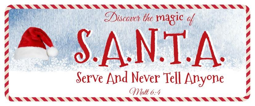 santa serve and never tell anyone