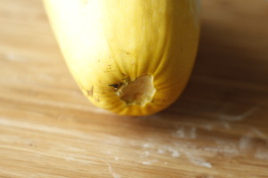 how to prepare spaghetti squash