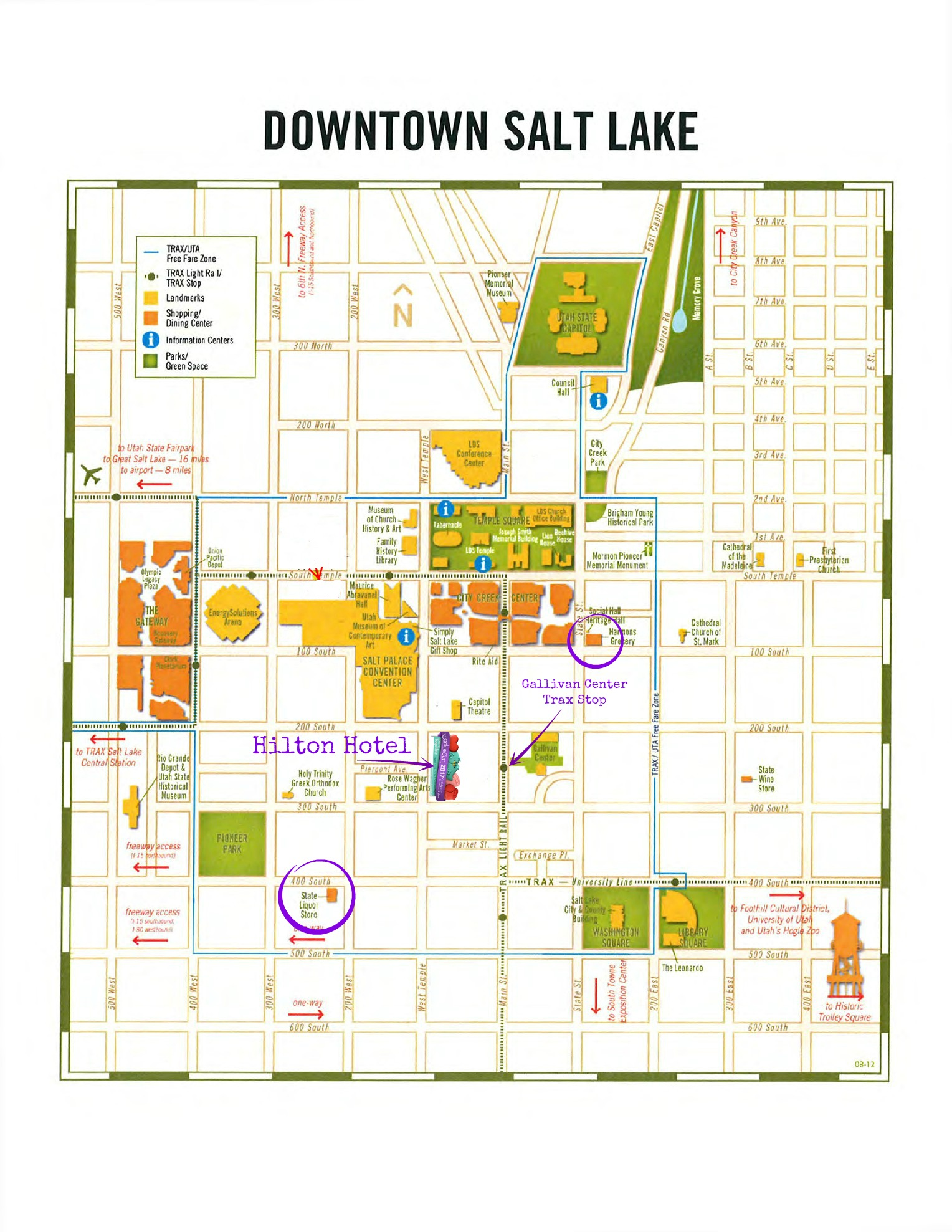 The Local Low Down For Cookie Con 2017 - Eat, Think & Be Merry on salt lake city cemetery map, salt lake city parking map, salt lake city airport map, salt lake city utah map, salt lake city attractions, salt lake city tourist map, salt lake city grid map,
